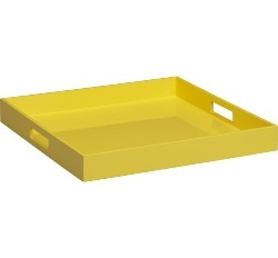 yellow tray - have: Samba Yellow, Highlanders Master, Alderwood Offices, Bedrooms Master, Mellow Yellow, Yellow Table, Tables Trays, Trays Chic, Yellow Trays