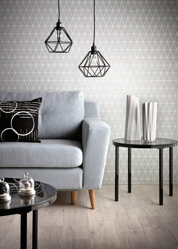 Danish Design Wallpaper : Best ideas about geometric wallpaper on living room modern