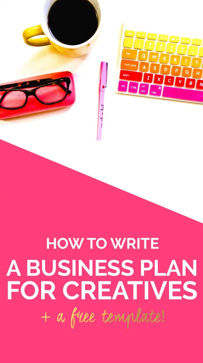 HOW to write a business plan to achieve your blog + biz goals and WHY it's so important! (Plus a FREE editable template!)