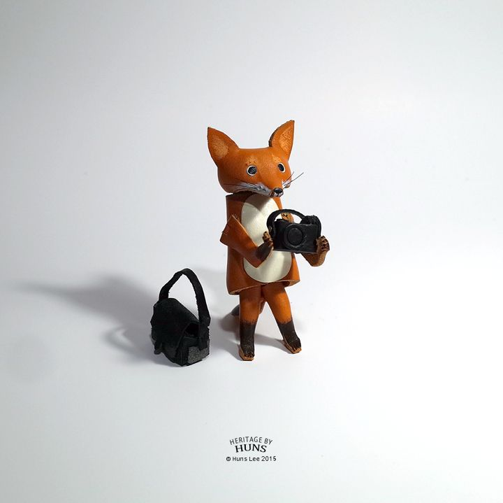 Leather fox. Heritage by Huns 2015.