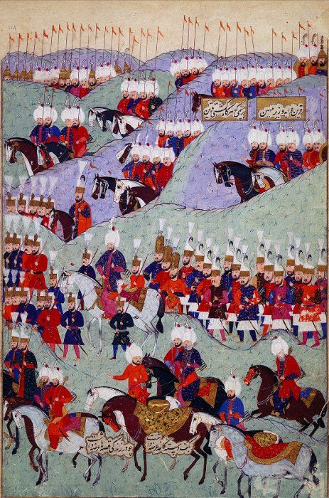 The Funeral of Caliph Suleyman the Law Giver/the Magnificent (1566 CE Ottoman Empire)