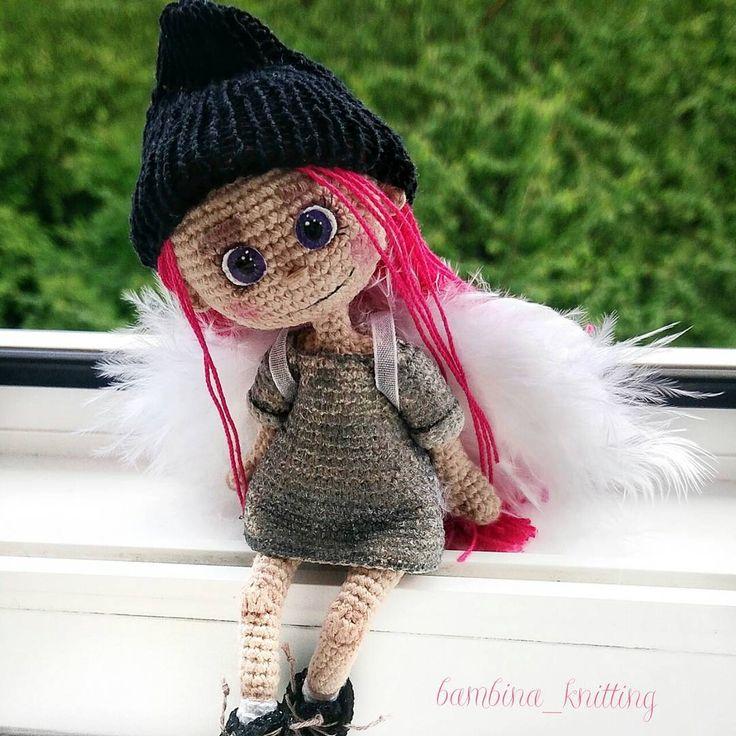 426 отметок «Нравится», 22 комментариев — КАРКАСНЫЕ КУКОЛКИ (@bambina_knitting) в Instagram: «Как же  ты мне нравишься моя маленькая девочка ангелочек 😇  #bambina_knitting #ангел #девочкаангел…»