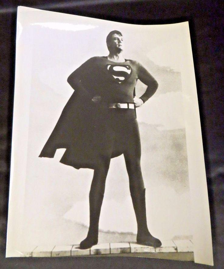 "BOB HOLIDAY First SUPERMAN on Broadway Stage Vintage  1966  B&W 8"" x 10"" PHOTO"