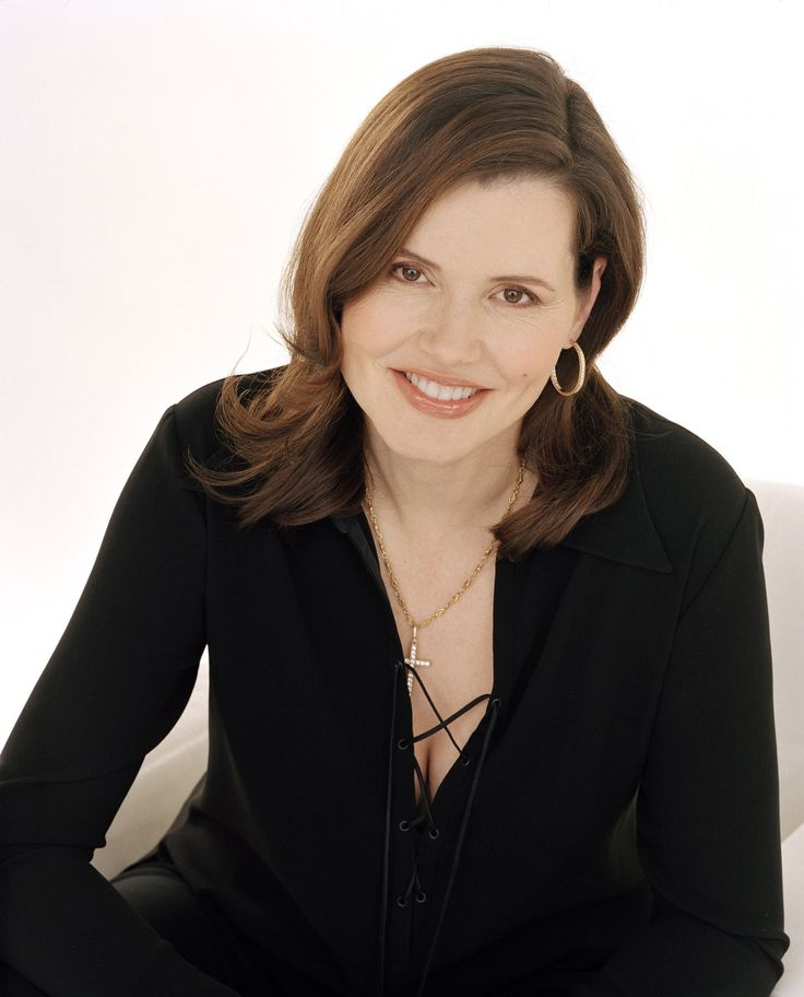 Geena Davis - Academy award-winning Actress, Olympic Archer, Mensa member, and Founder of the Geena Davis Institute On Gender In Media, and an honestly generous and nice lady.