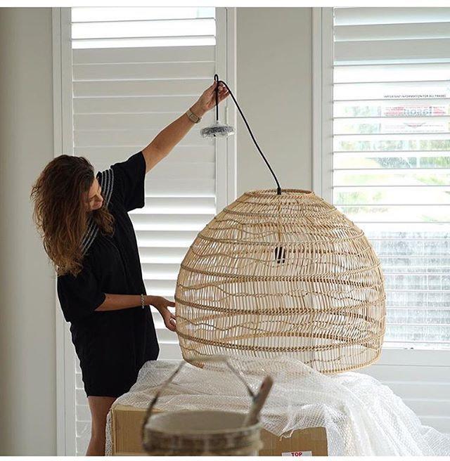 Wicker Pendant Light Rattan Pendant Light Rattan Lamp Lighting Coastal Pendant Lighting Basket Lighting Dizajn Produkta Domashnij Dekor Dizajn Osvesheniya