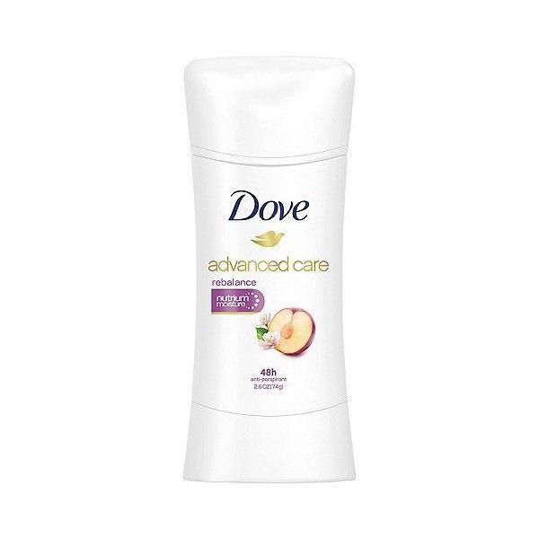 Dove Advanced Care Rebalance Beauty Fresh Anti-Perspirant Deodorant ($3.92) ❤ liked on Polyvore featuring beauty products, bath & body products, deodorant, anti perspirant and deodorant, antiperspirant deodorant, anti perspirant deodorant, superbly efficient anti-perspirant and deodorant and dove deodorant