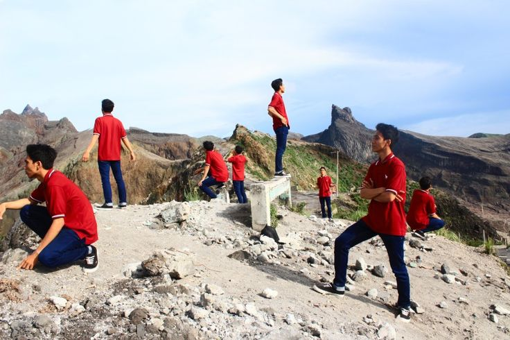 Kelud Mountain, is awesome scenery!