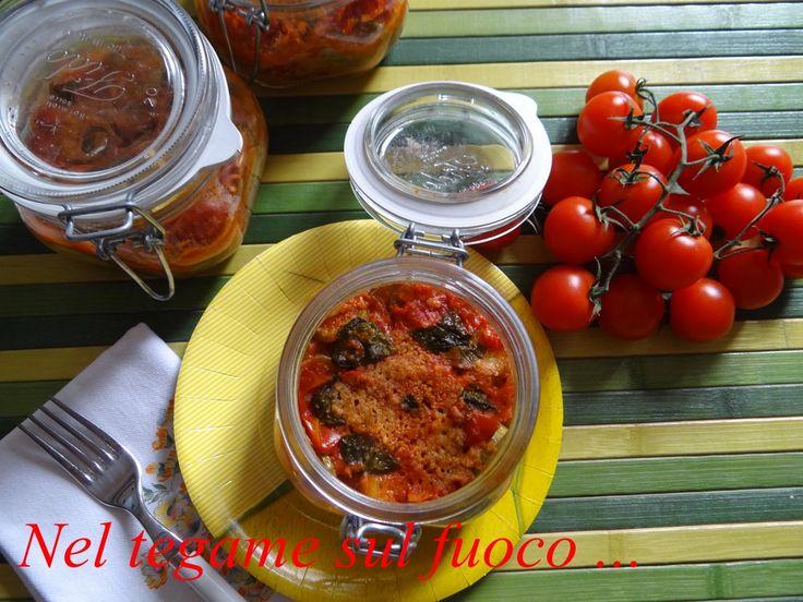 ... parmigiana di zucchine in vasocottura ... metodo veloce per preparare un piatto che vi conquisterà .... favorendo una sana alimentazione ....