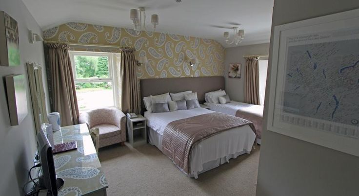 The Brantwood Hotel Penrith Just outside of Penrith, the Brantwood Hotel is less than 3 miles from Ullswater. Just one mile from the junction 40 of M6 it offers en suite bedrooms and TVs.
