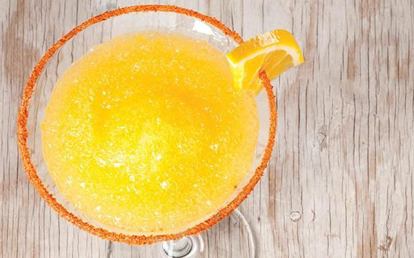 Margarita de naranja