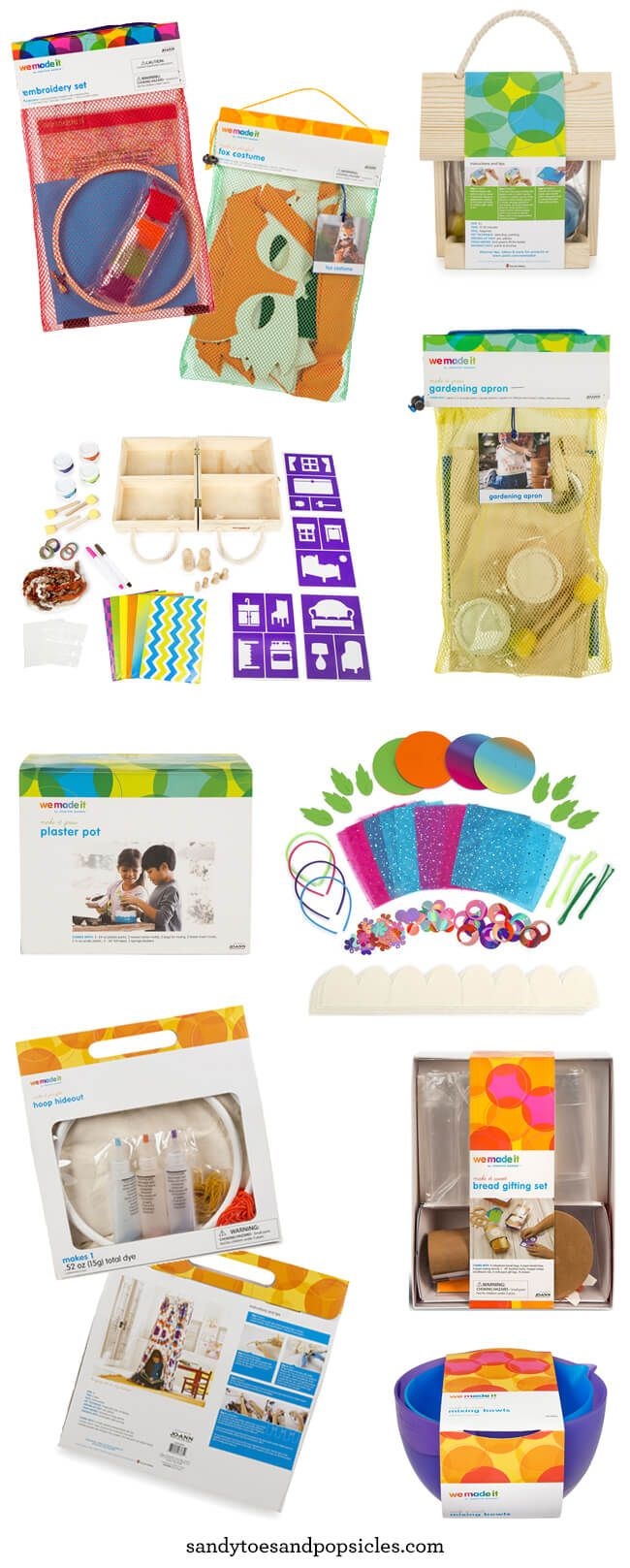 Craft kits for preschoolers - We Made It Craft Kits For Kids By Jennifer Garner At Joann Com And Jo