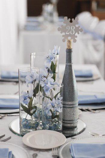 Tischdeko Hochzeit Winter In 2019 Tischdekoration Zur Hochzeit
