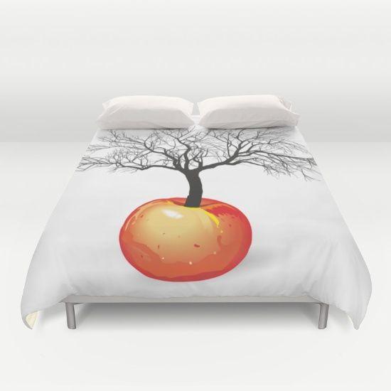 apple tree from fruit Duvet Cover
