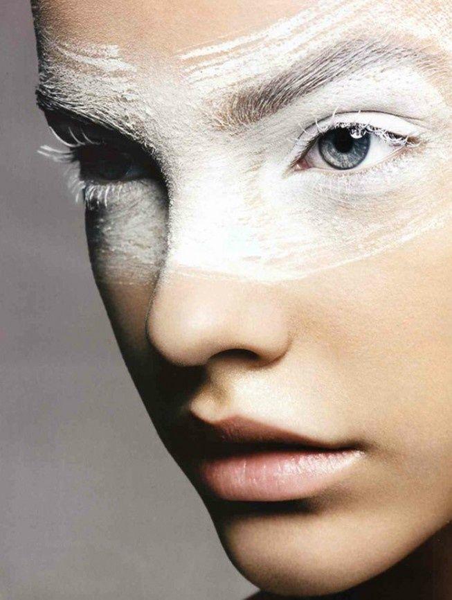 white mask make up - Google Search