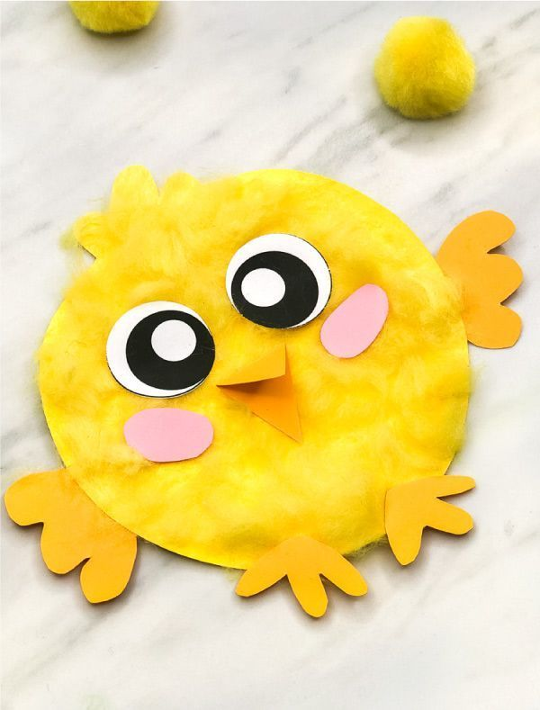 Easter Craft For Kids These Easy And Fun Baby Chicks Are The Perfect Art Project For Children Plus It Kids Art Projects Animal Crafts For Kids Art For Kids