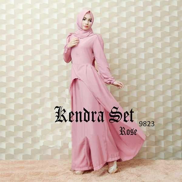Model Baju Setelan Kulot Muslim