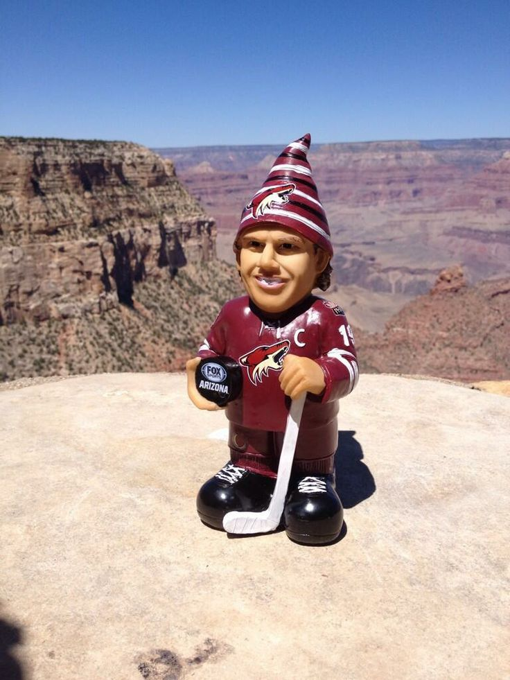 The Shane Doan gnome made a stop at the Grand Canyon recently!