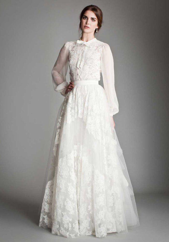 Robe de mariée pour l'hiver Temperley London