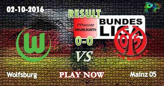 Wolfsburg 0 - 0 Mainz 02.10.2016 HIGHLIGHTS - PPsoccer