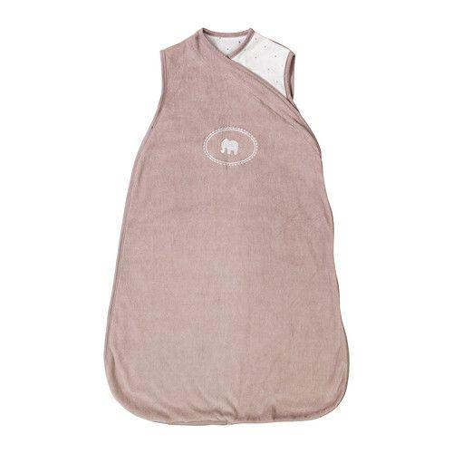 CHARMTROLL Wearable blanket, beige, white 0-6 beige/white // CHARMTROLLWearable blanket, beige, white,0-6  $12.99