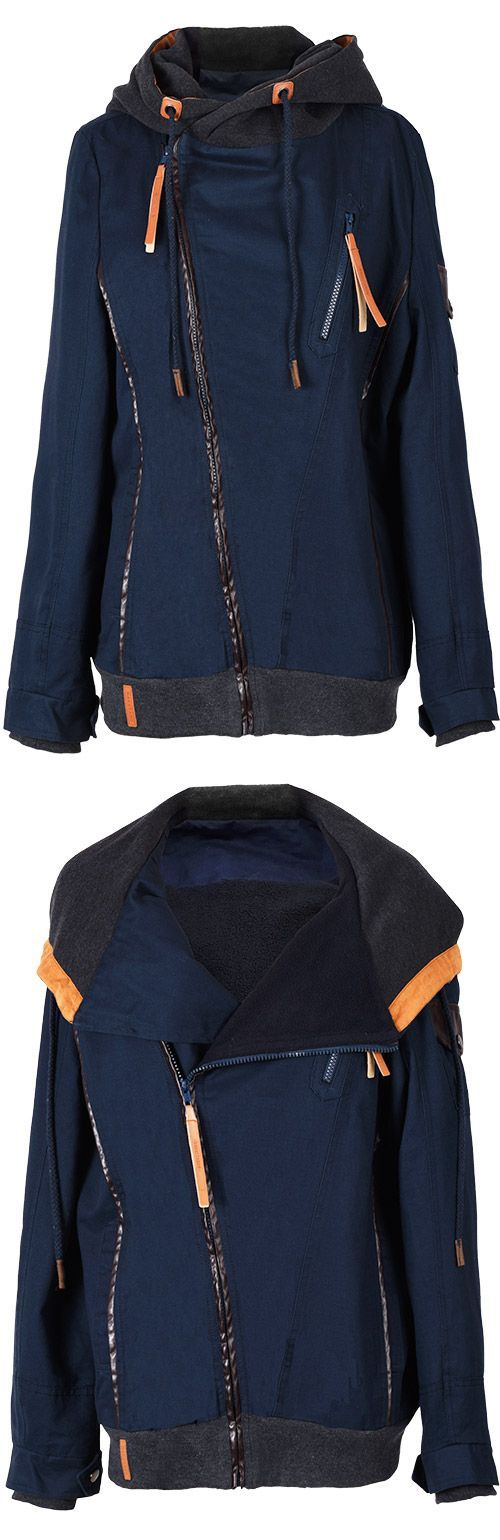 Awesome, Only $49.99! Faster Shipping within One Week. You can go sightseeing in this jacket but honestly we think this piece itself is the sight to see! Warm & comfy, we love the cool Hooded Coat!
