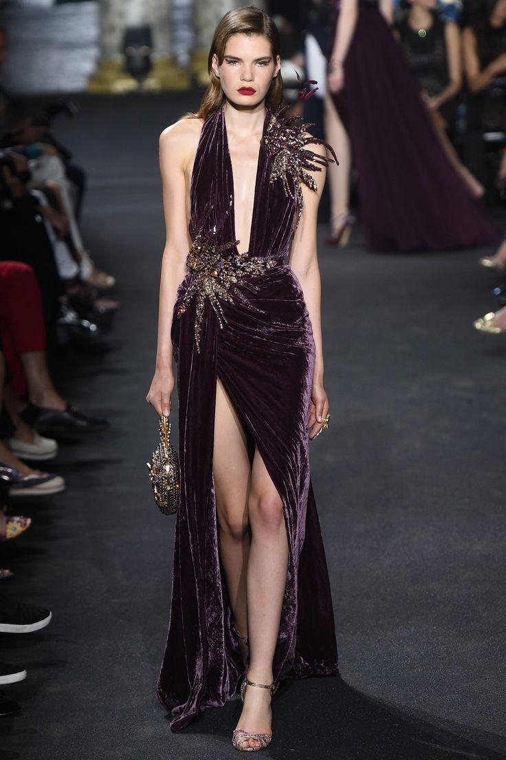 Elie Saab Fall 2016 Couture Fashion Show - Sophie Rask (OUI)