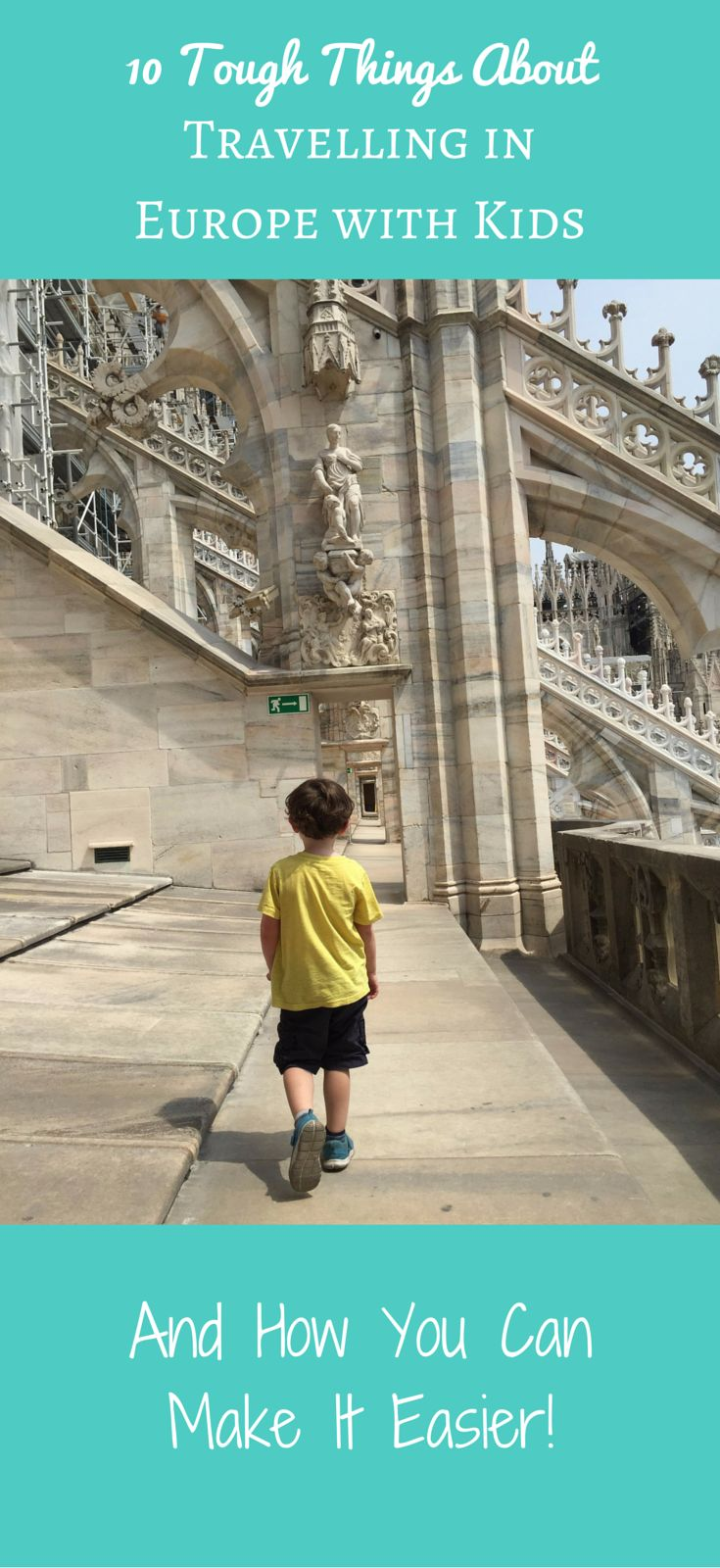 Travelling in Europe with kids isn't always easy. There are some aspects which are tough but we've found solutions to almost all the difficulties we faced while on a family vacation to Europe with small children.