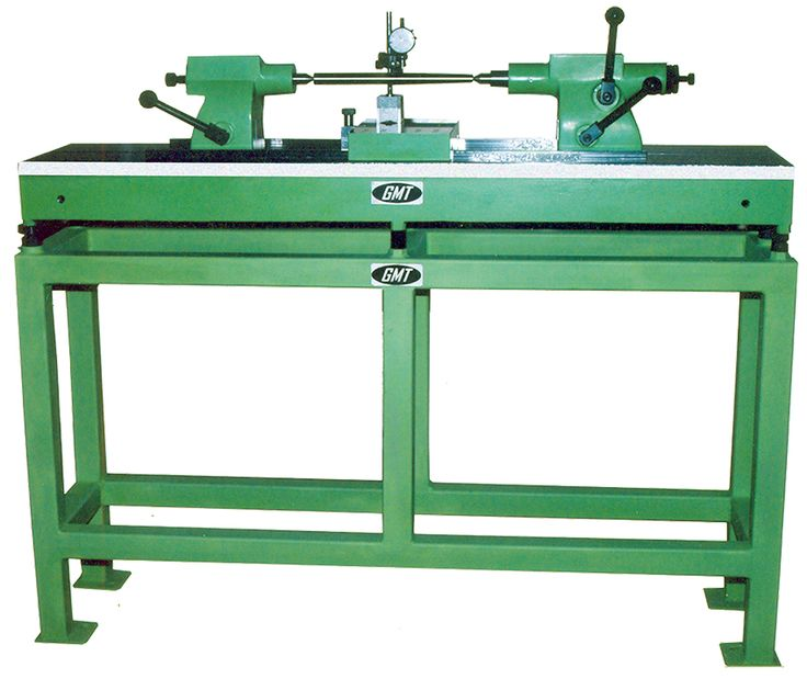 GMT BENCH CENTRE - The base is made of close grained Cast Iron, heavily ribbed, stress relieved and checking centres consist of head stock and tail stock.