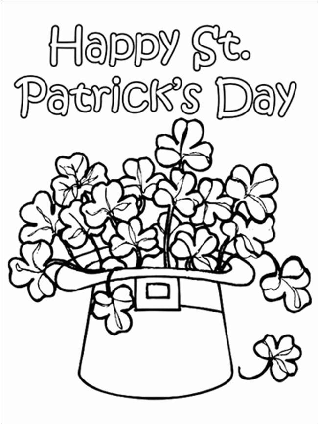 St Patrick 039 S Day Coloring Pages Printable Best Of 22 Cool Graphy Printable St P In 2020 Spring Coloring Pages Printable Coloring Pages St Patricks Coloring Sheets