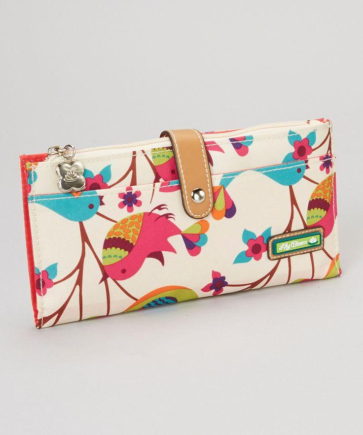 Lily Bloom Tweety Twig Travel Wallet by Lily Bloom #zulily #zulilyfinds
