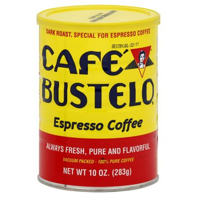 Cafe Bustelo Coffee. Dark, pure, and flavorful, this bold blend is roasted and ground from the finest coffees in the world