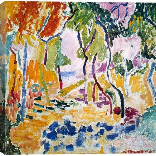 Found it at AllModern - 'The Joy of Life (1905)' by Henri Matisse Painting Print on Wrapped Canvas