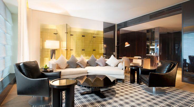 Yabu Pushelburg, W Guangzhou Hotel, Suite