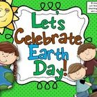 This Earth Day Activity Packet contains the following fun activities:  Earth Day Promise  Earth Day Writing (several different versions)  Good for ...