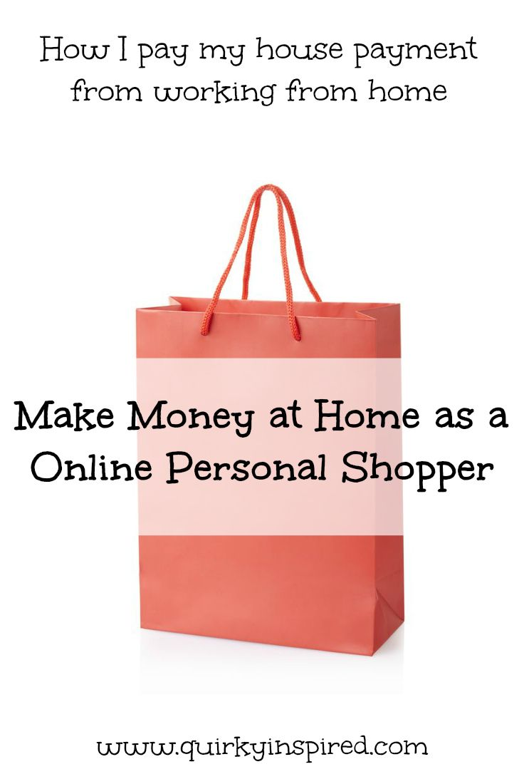 Want to learn how to be a personal shopper! Great tips on how to work from home and make money online while doing something you love!