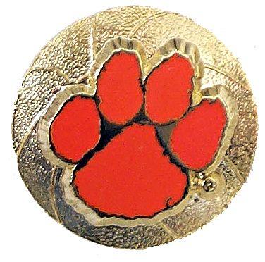 Clemson Basketball Pin