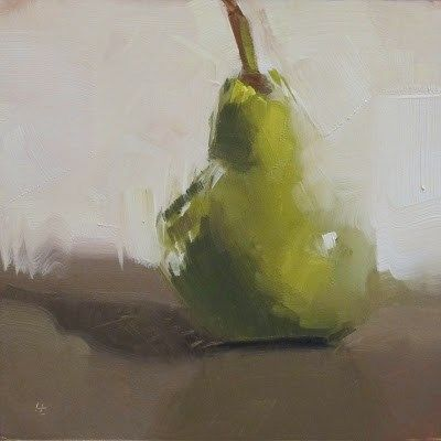 """I AM PEAR"" - Original Fine Art for Sale - © Helen Cooper"