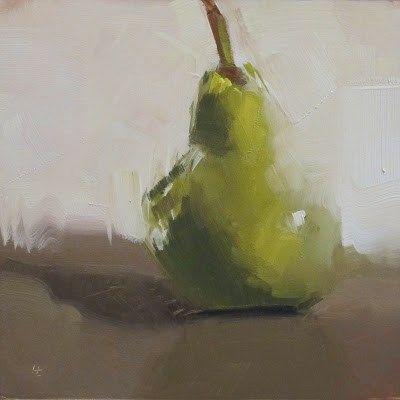 """I AM PEAR"" - Original Fine Art for Sale - © Helen Cooper"