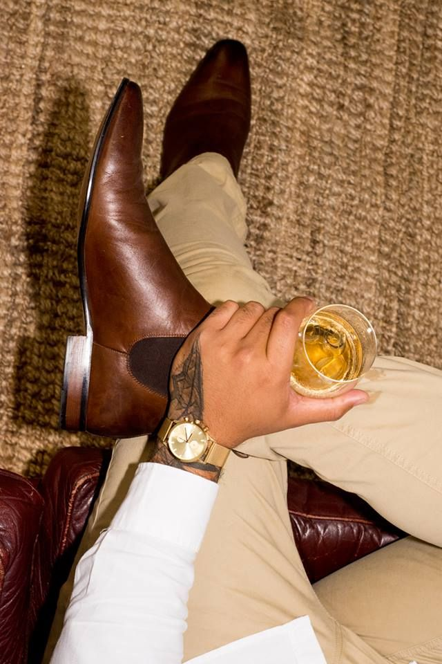 Exude masculinity and elegance with Antoine & Stanley's shoes and accessories. Go on a payment plan with ZipPay and make sure your boot and watch game is on point.