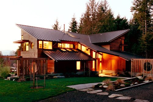 49 best images about pacific northwest home style on for Pacific northwest houses
