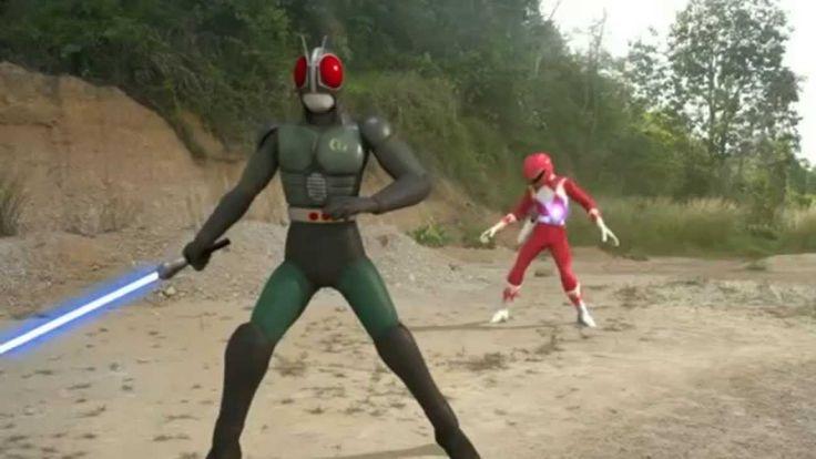 Lucu dan Jenaka, Kamen Rider VS Power Rangger