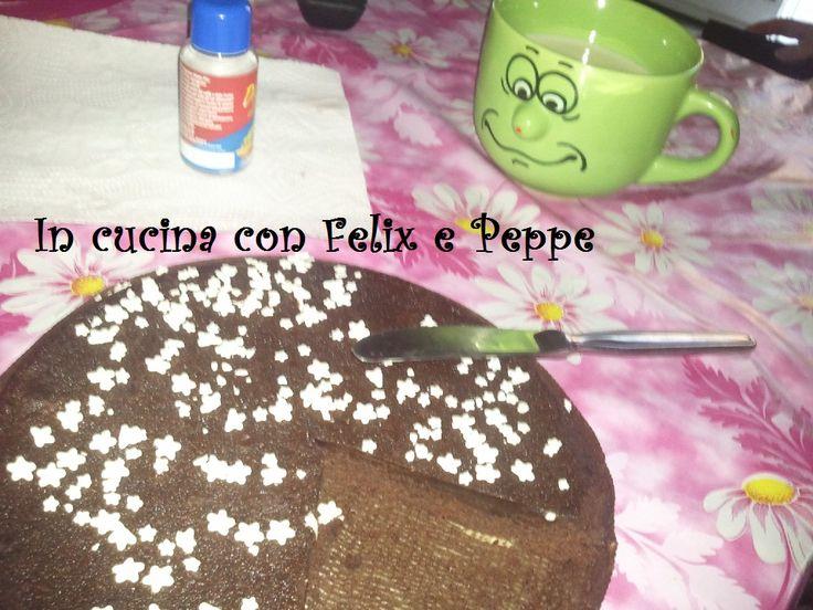 Colazione con latte e torta pan di stelle  http://felixmakeuptutordelbenessere.blogspot.it/