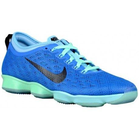 Nike Zoom Fit Agility Womens Training Shoes Soar Lakeside Green Glow Black