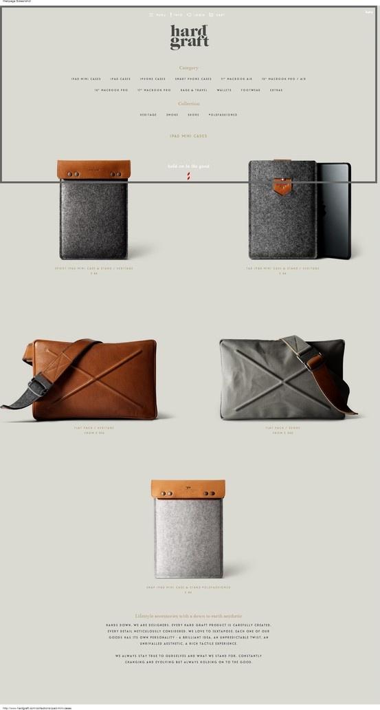 hardgraft product gallery