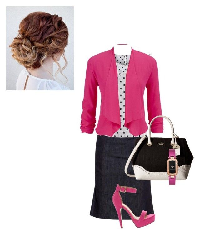 """""""Sunday morning outfit"""" by annalisa-victoria-morehouse ❤ liked on Polyvore featuring Tomas Maier, maurices, Kate Spade and Marc Jacobs"""