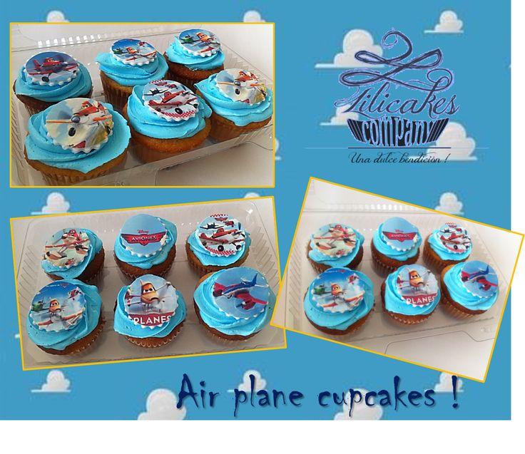Air plane Cupcakes !
