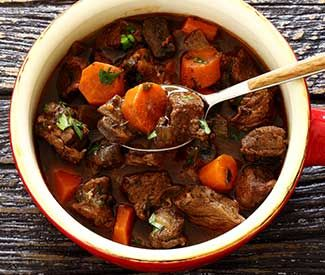 Slow Cooker Paleo Beef Stew Recipe  Beef stew without the spuds and you don't even notice they are missing!