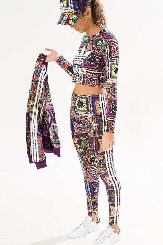 legging crochita adidas | FARM