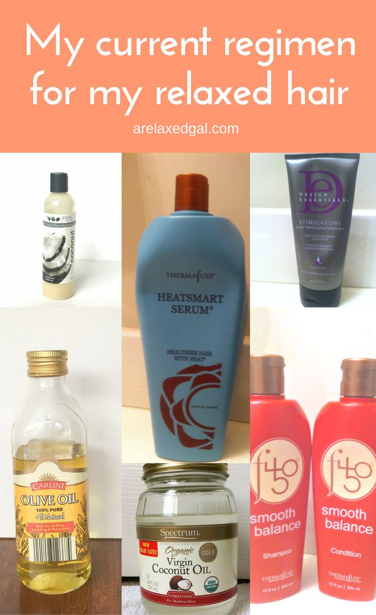 Check out the products I used when I first started my relaxed hair journey. I decided to try out several shampoos, conditioners and moisturizers to get my healthy hair journey started | arelaxedgal.com