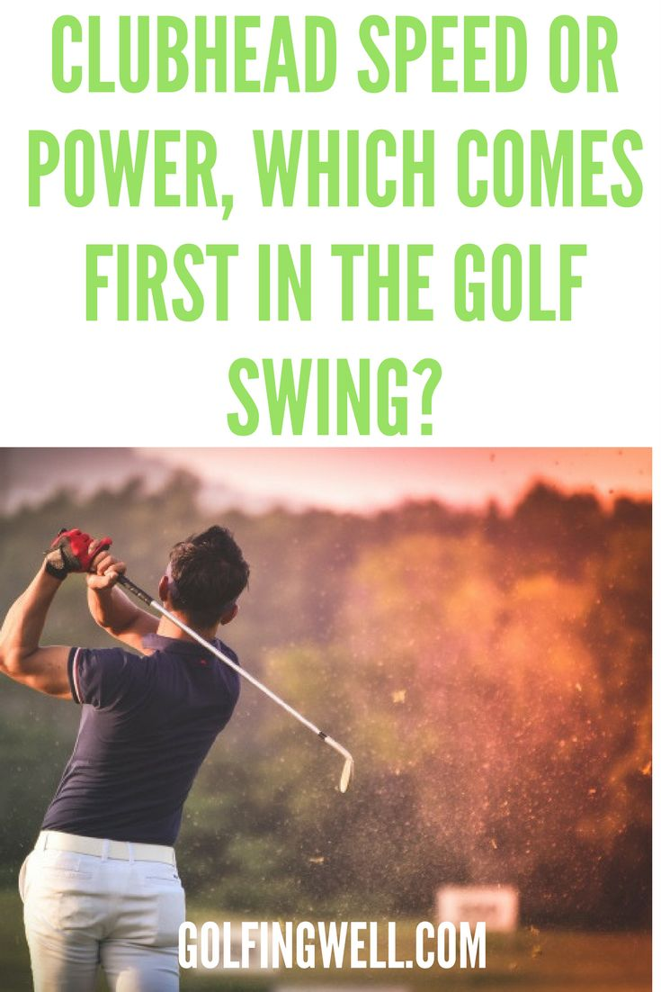 If your looking for more power in your golf swing check out these tips on club head speed to get better distance. #golf #golftips